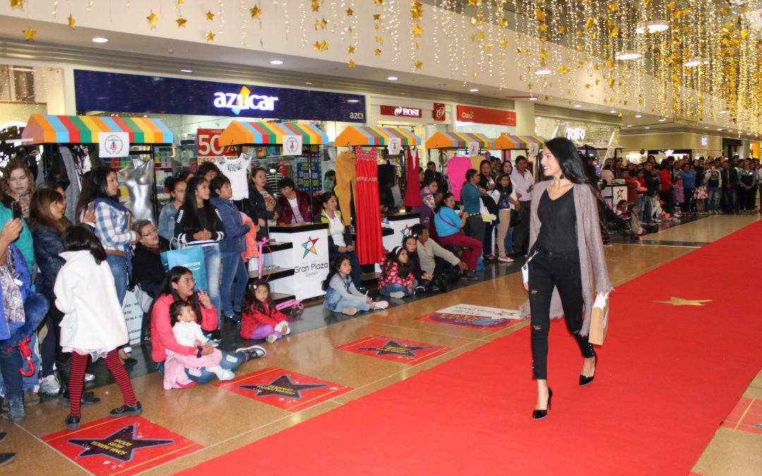 Desfile de modas en Centro Comercial Gran Plaza Ipiales
